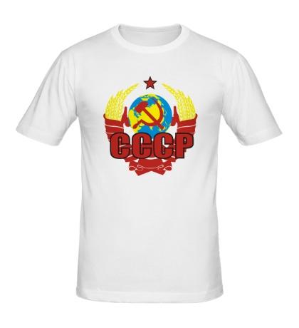 Мужская футболка СССР символика