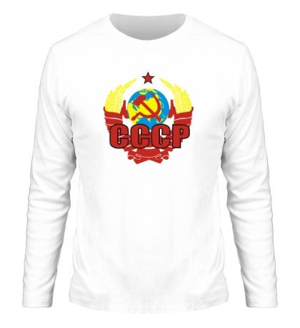 Мужской лонгслив СССР символика