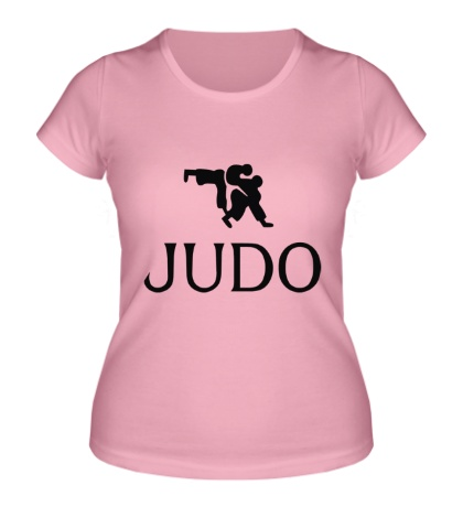 Женская футболка Judo