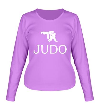 Женский лонгслив Judo