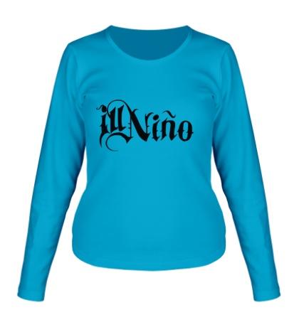 Женский лонгслив Ill Nino