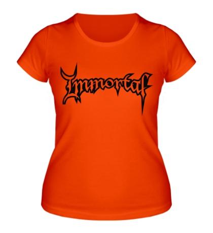 Женская футболка Immortal