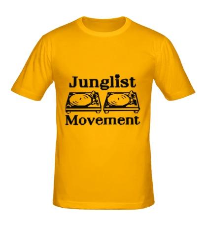 Мужская футболка Junglist Movement
