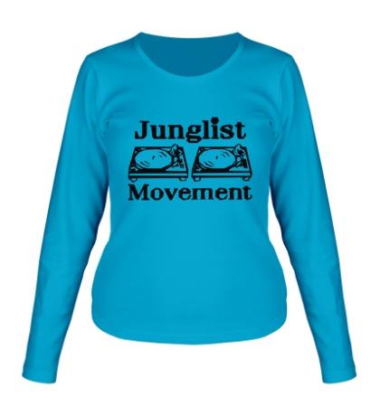 Женский лонгслив Junglist Movement