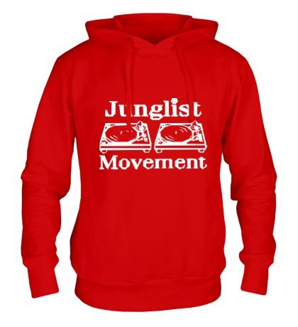 Толстовка с капюшоном Junglist Movement