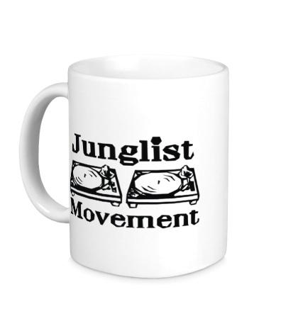 Керамическая кружка Junglist Movement