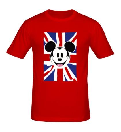 Мужская футболка Британский Микки Маус