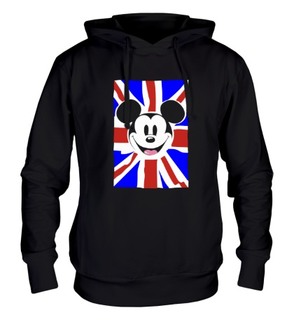 Толстовка с капюшоном Британский Микки Маус