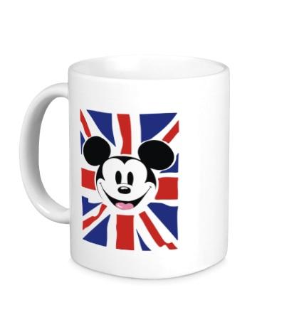 Керамическая кружка Британский Микки Маус