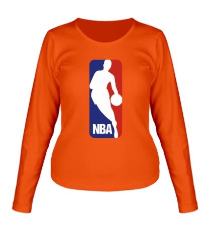 Женский лонгслив NBA Logo