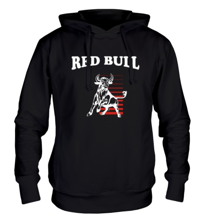 Толстовка с капюшоном Red Bull