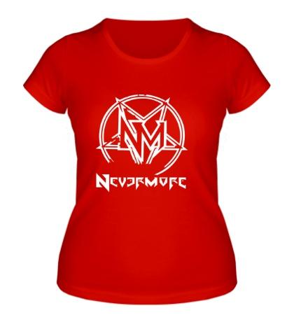 Женская футболка Nevermore
