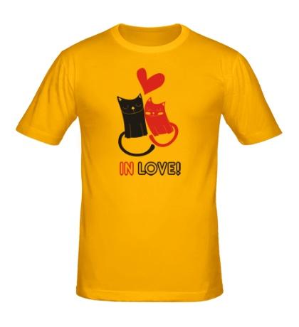 Мужская футболка «In love»