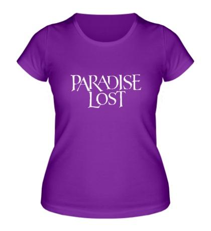 Женская футболка Paradise Lost