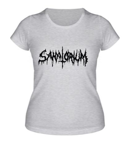 Женская футболка Sanatorium