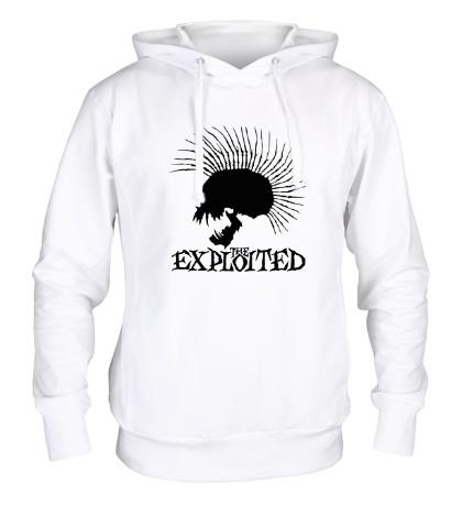 Толстовка с капюшоном The Exploited Skull