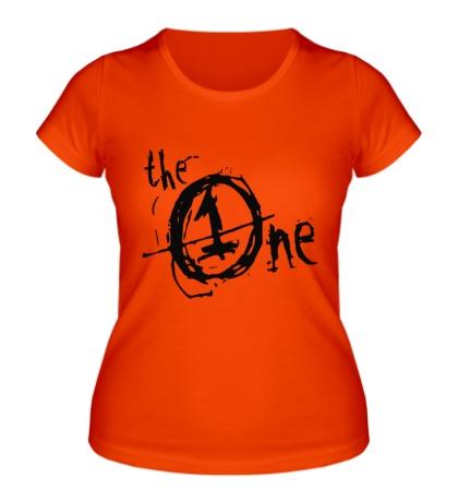 Женская футболка The One