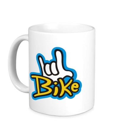 Керамическая кружка Bike