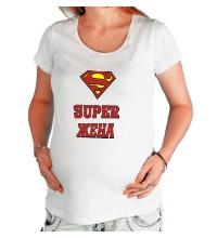 Футболка для беременной Супер жена
