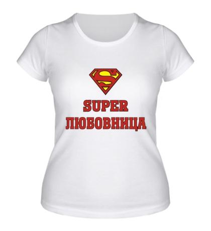 Женская футболка Супер любовница