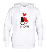 Толстовка с капюшоном In love