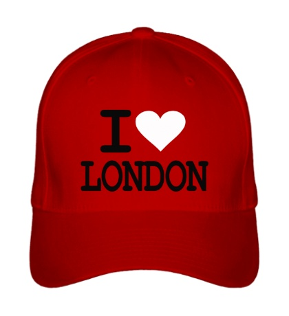 Бейсболка I Love London