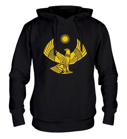 Толстовка с капюшоном Символ Дагестана
