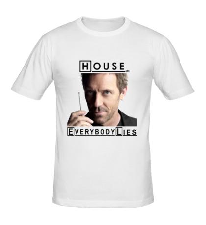 Мужская футболка House MD: Great Idea