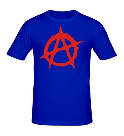 Мужская футболка Символ Анархии