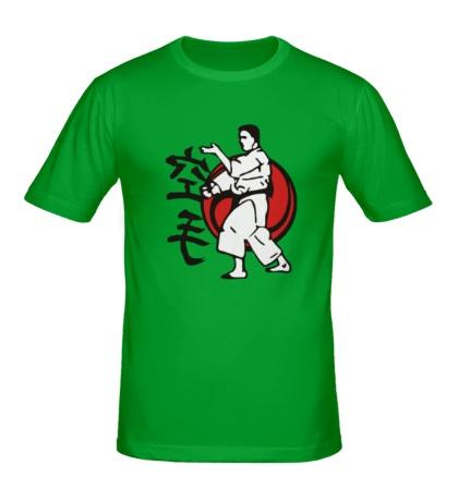 Мужская футболка Искусство Каратэ