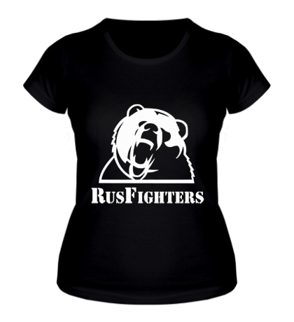 Женская футболка RusFighters