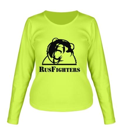 Женский лонгслив RusFighters