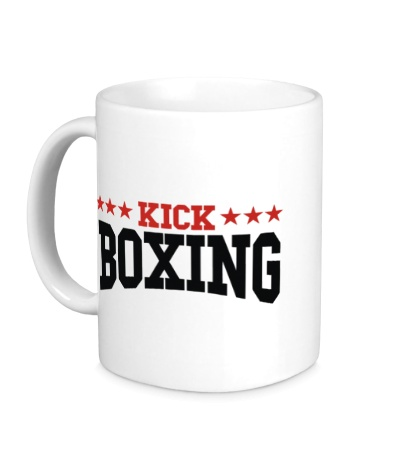 Керамическая кружка Kickboxing Star