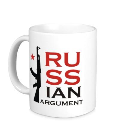 Керамическая кружка Russian argument