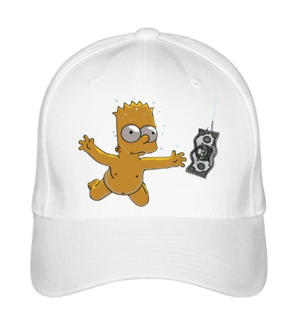 Бейсболка Барт с долларом