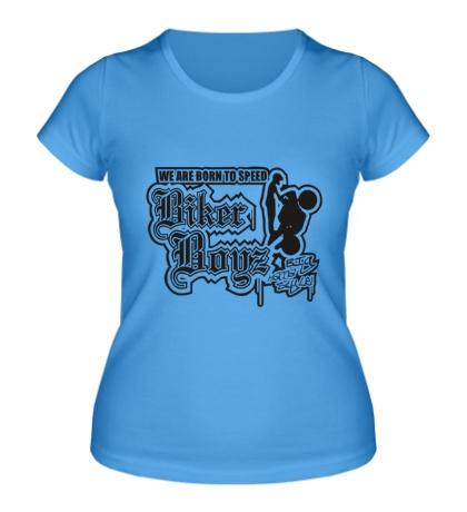 Женская футболка Biker Boyz