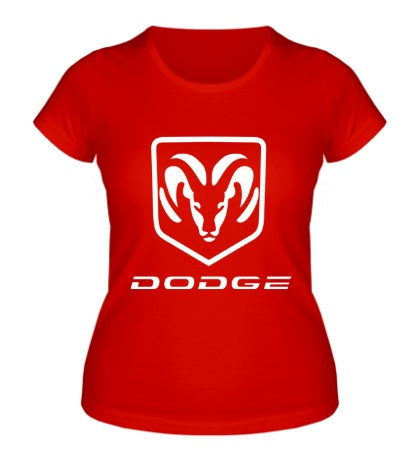 Женская футболка Dodge