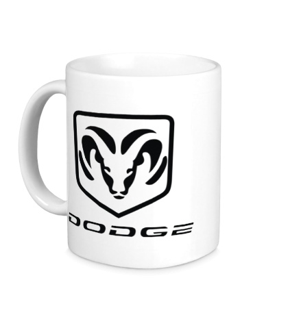 Керамическая кружка Dodge
