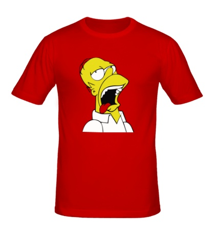 Мужская футболка Гомеру плохо