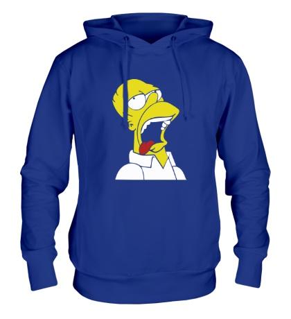 Толстовка с капюшоном Гомеру плохо