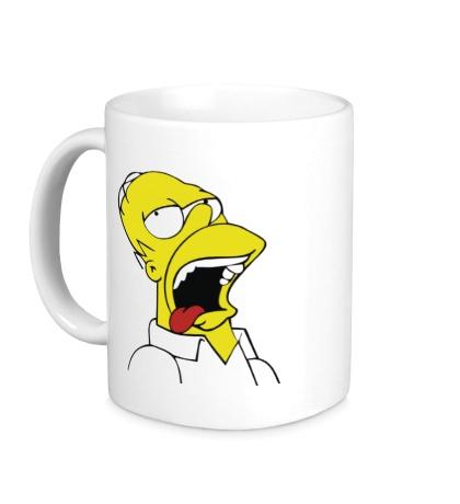 Керамическая кружка Гомеру плохо