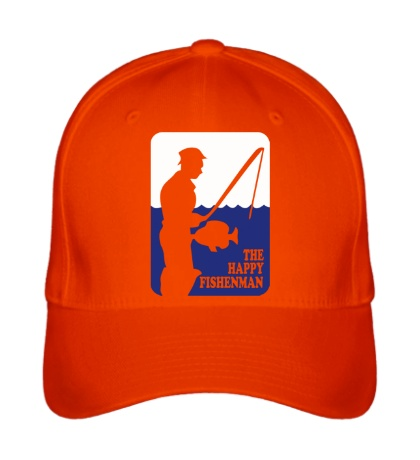 Бейсболка Счастливый рыбак