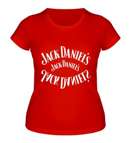 Женская футболка Jack Daniels Whiskey