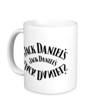 Керамическая кружка Jack Daniels Whiskey