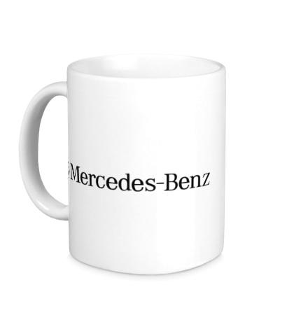 Керамическая кружка Mersedes-Benz Line