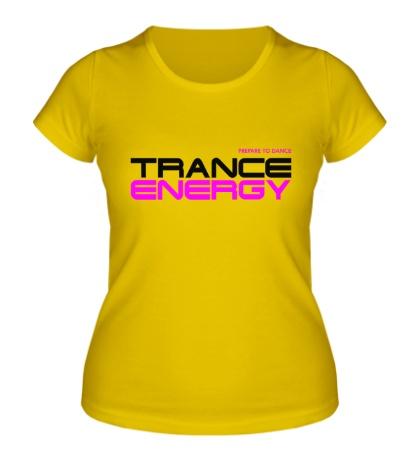 Женская футболка Trance Energy