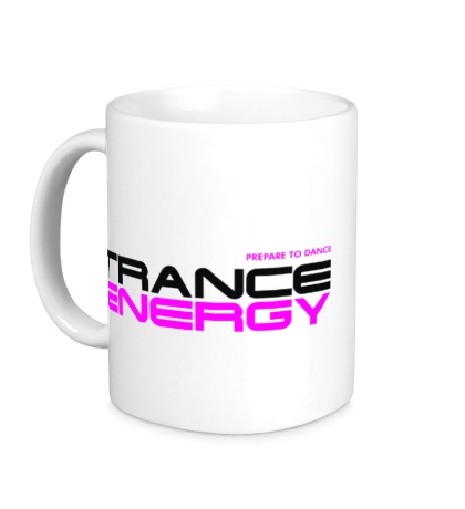 Керамическая кружка Trance Energy
