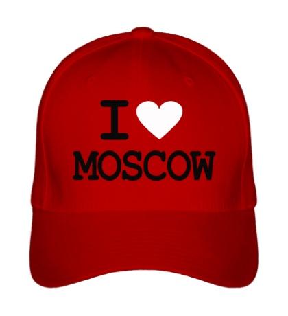 Бейсболка I love Moscow