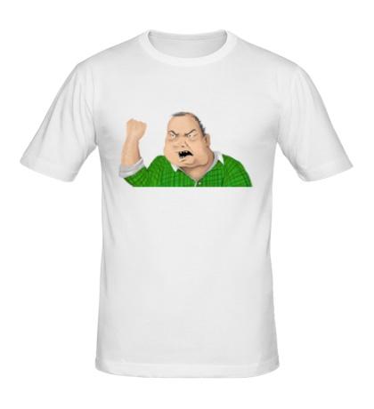 Мужская футболка Мужик блеать