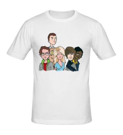 Мужская футболка Theory Friens